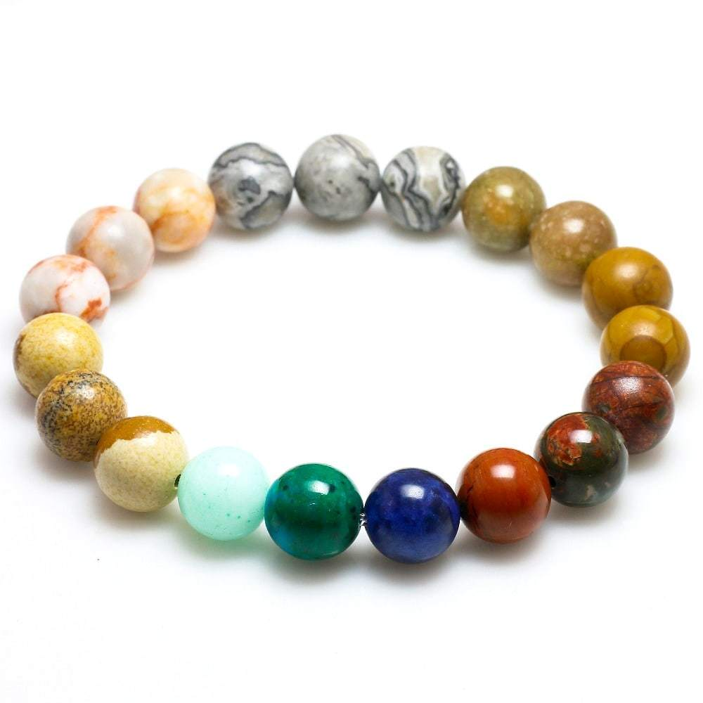 Cosmic Natural Stone Bracelet-Accessoryssimo