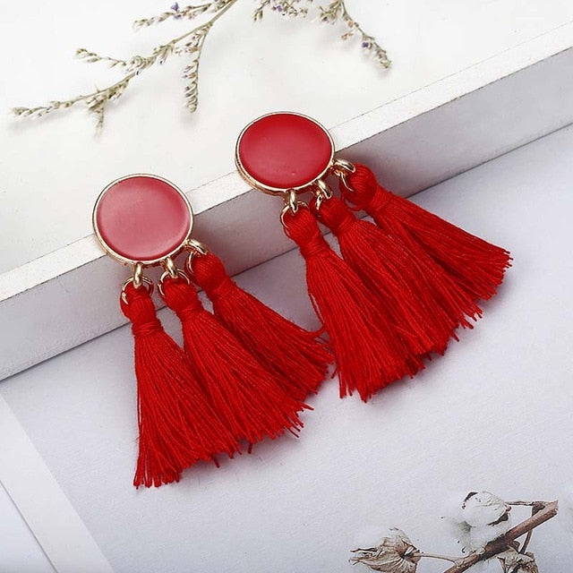 Bohemian Handmade Earrings-Accessoryssimo