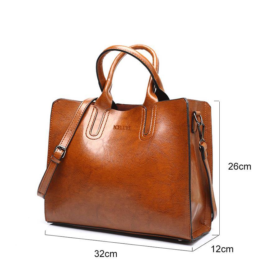 Grande Leather Handbag-Accessoryssimo