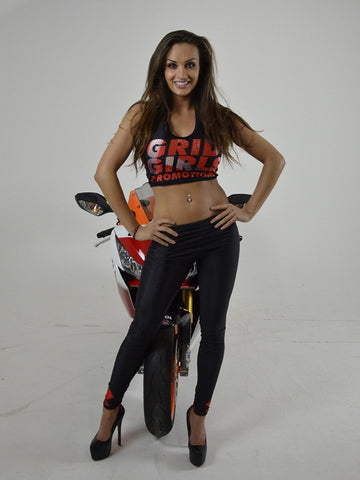 Grid Girls - Black Grid Girl Leggings