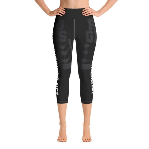 Ring Girls UK - Yoga Capri Leggings