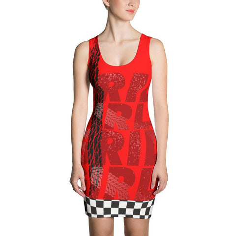 Generic Grid Girl Outfit - Sublimation Dress