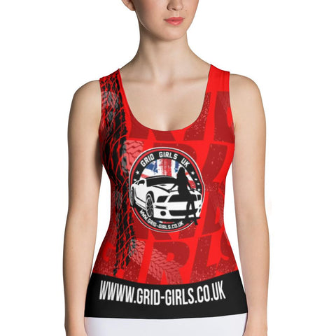 Grid Girls UK Sublimation Cut & Sew Tank Top