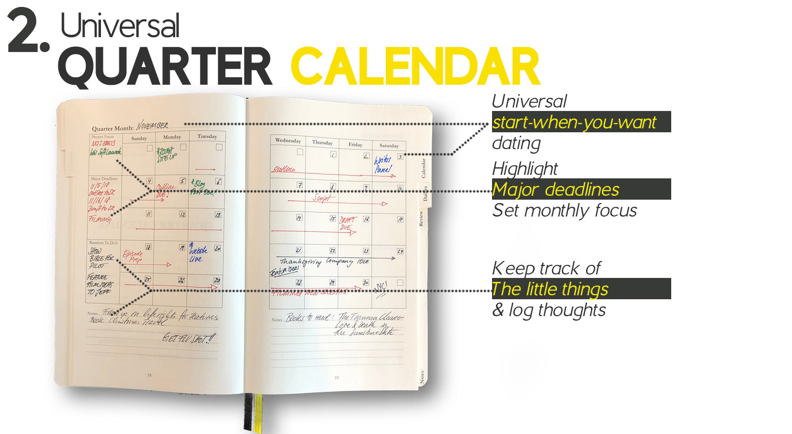 The Writer's Wright is a journal, notebook, planner and career coach specifically designed for Writers