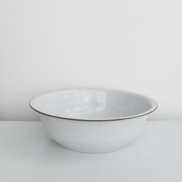 Meraki Enamel Basins - Two Sizes