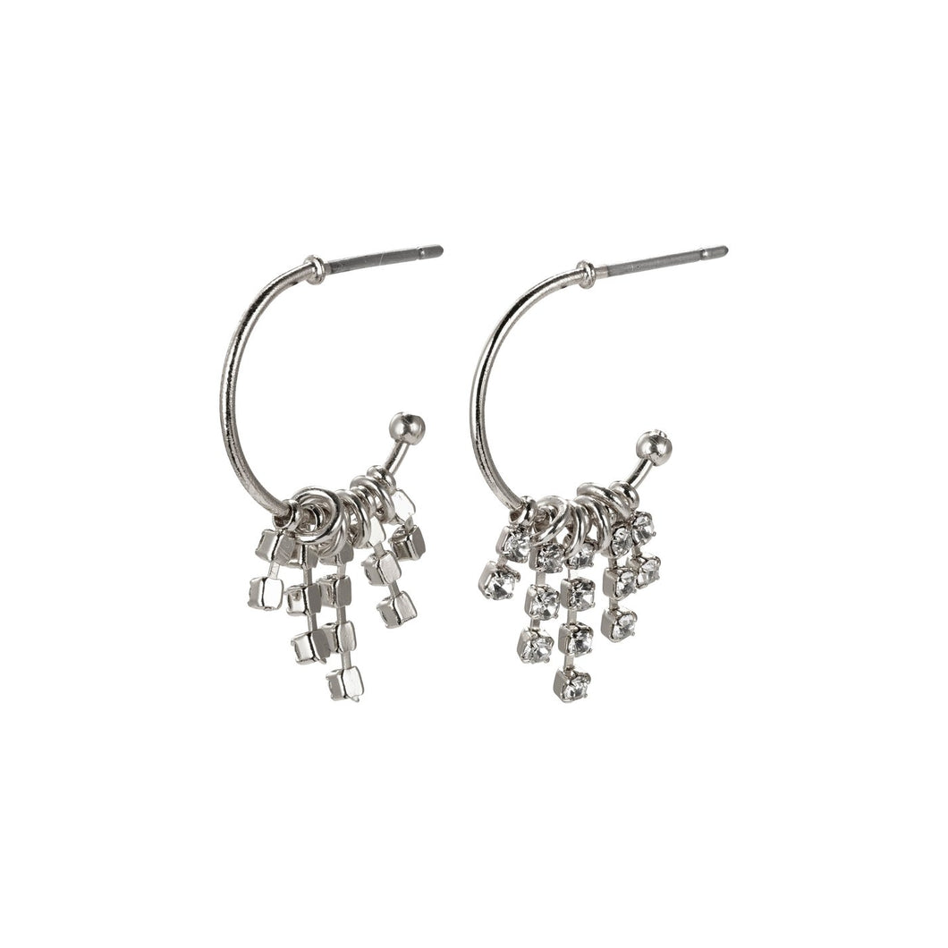 Pilgrim Fire Plated Crystal Earrings (Two Variations)