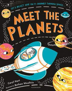 Meet The Planets by Caryl  Hart and Bethan Woollvin
