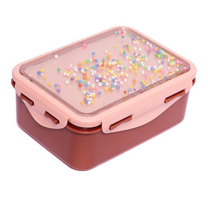Kids Lunchbox with Popsicals in Rose