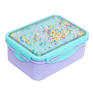 Kids Lunchbox with Popsicals in Lilac