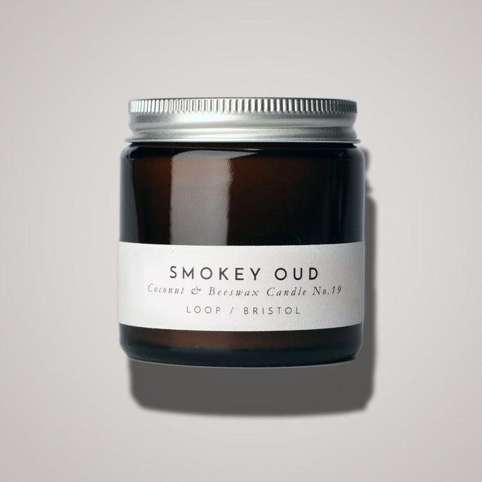 Smokey Oud Scented Candle