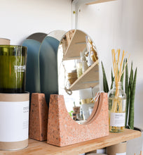 Load image into Gallery viewer, hubsch-pink-terrazzo-mirror