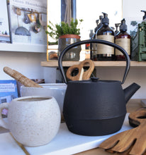 Load image into Gallery viewer, black-cast-iron-teapot-nicholas-vahe