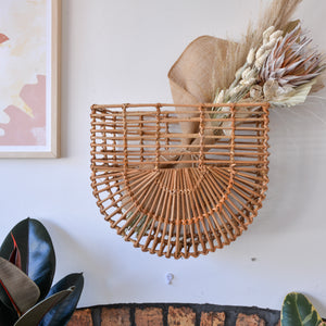 Bloomingville-wall-mounted-rattan-basket