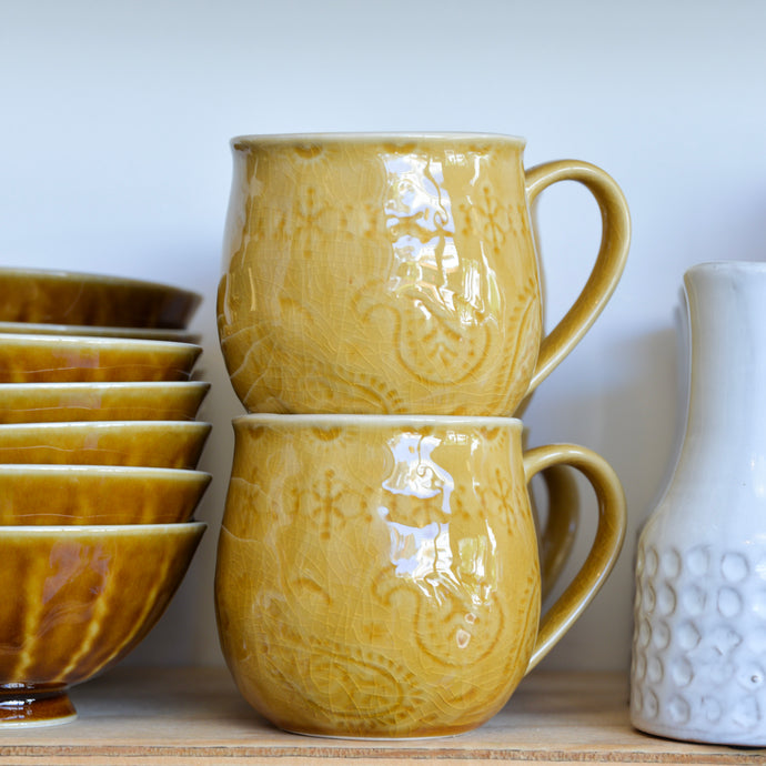 bloomingville-yellow-rani-mug