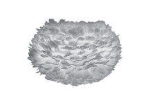 Load image into Gallery viewer, Umage Eos Medium Grey Feather Lampshade