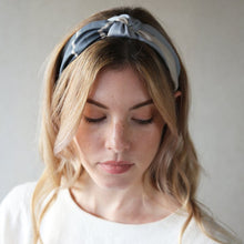 Load image into Gallery viewer, Grey and Stone Palm Knot Headband