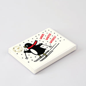 penguin-christmas-card-set