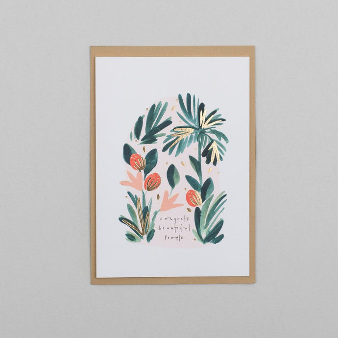 Katie Housley Card Congrats Beautiful People Card