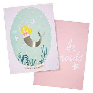 Meri Meri Mermaid Prints (Set of two)