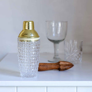 Clear Glass Cocktail Shaker