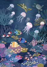 Load image into Gallery viewer, Petit Monkey Coral Reef Poster