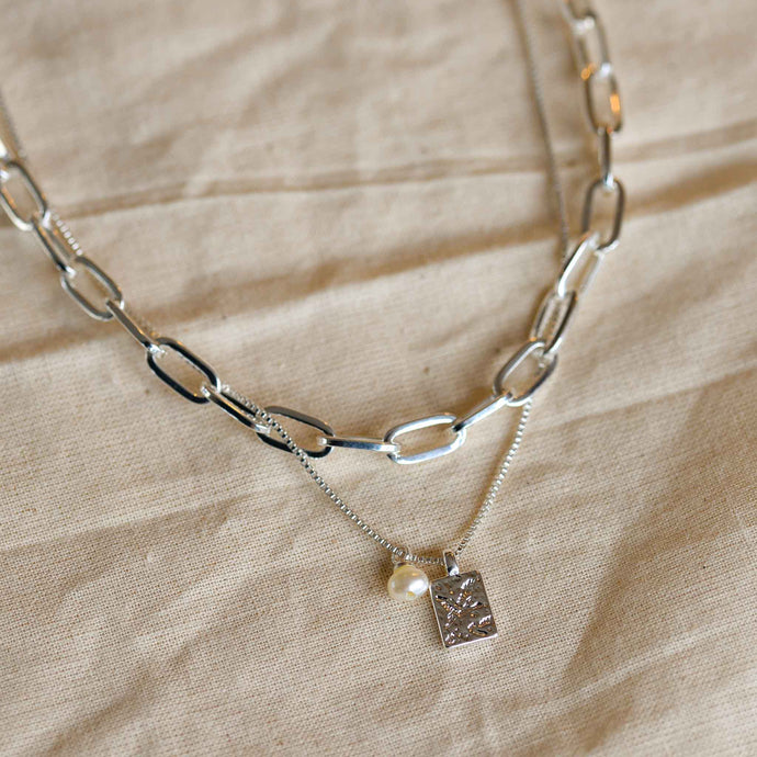 pilgrim-silver-plated-layering-necklace
