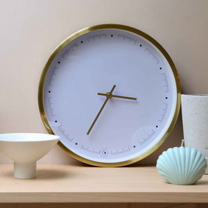 hubsch-brass-wall-clock