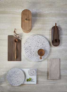 HK Living Terrazzo Serving Tray/Cutting Board in Medium or Large