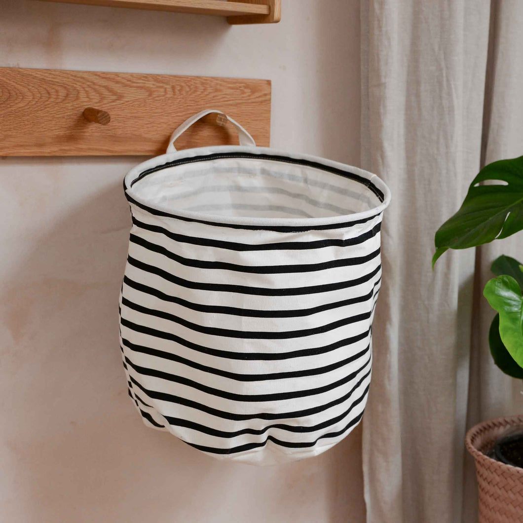 house doctor laundry bag stripe small