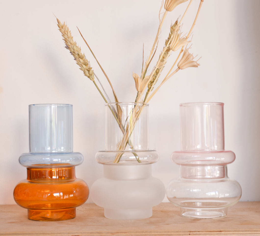 hubsch-coloued-glass-vases
