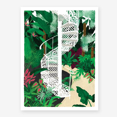 All the Ways To Say Kew Gardens Print Small