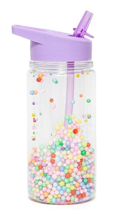 Kids Drinking Bottle with Marcaron Pops in Lilac