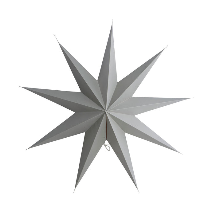 House Doctor Nine Point Star Paper Decoration (Choice Of Colour And Size)