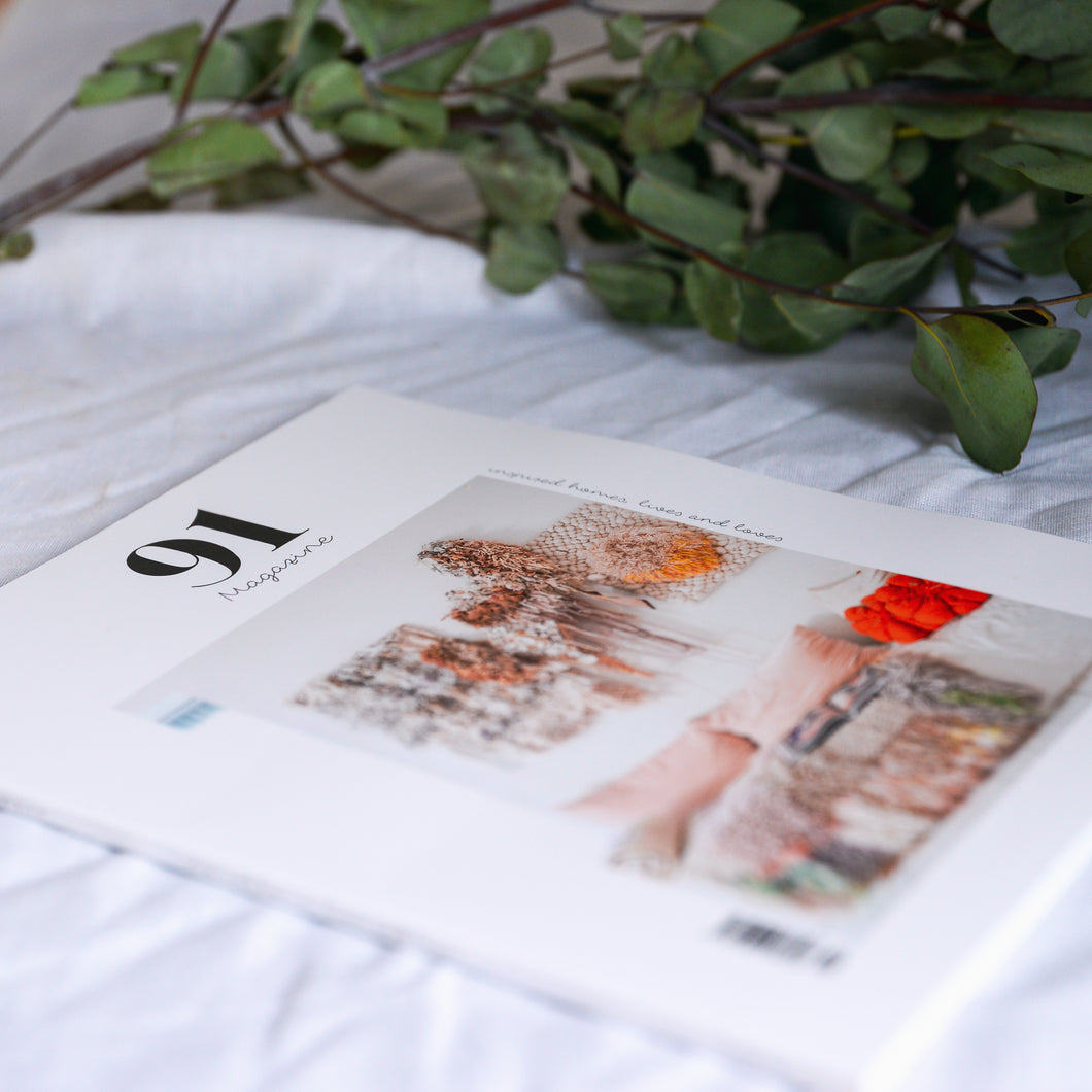 91 magazine issue 10, independent interiors and lifestyle.