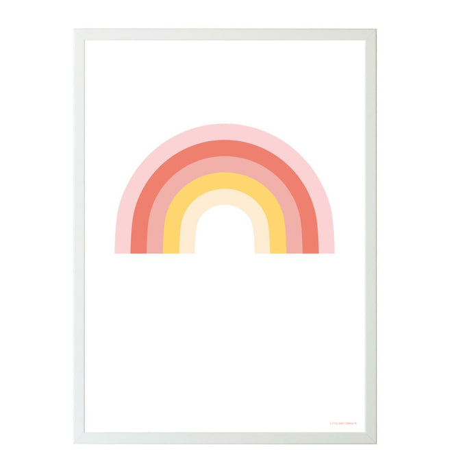 A Little Lovely Rainbow Poster