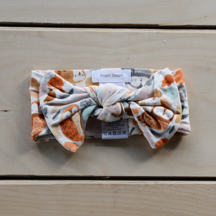 Autumn Owls Headband 0-12m