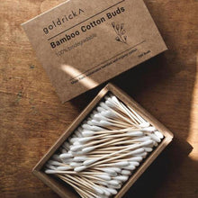 Load image into Gallery viewer, Bamboo Cotton Buds 100% Biodegradable x 200