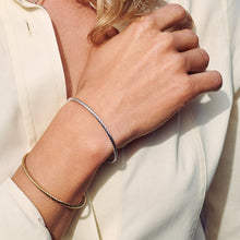 Load image into Gallery viewer, Cece Gold Plated Twist Bracelet