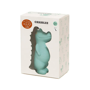 Petit Monkey Charlie The Crocodile Rubber Toy