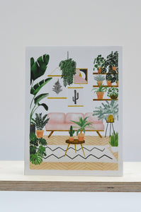 All The Ways To Say Sofa and Plants Print (Choice of two sizes)