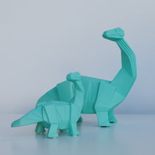 Load image into Gallery viewer, Disaster Design Blue Origami Diplodocus Lamp