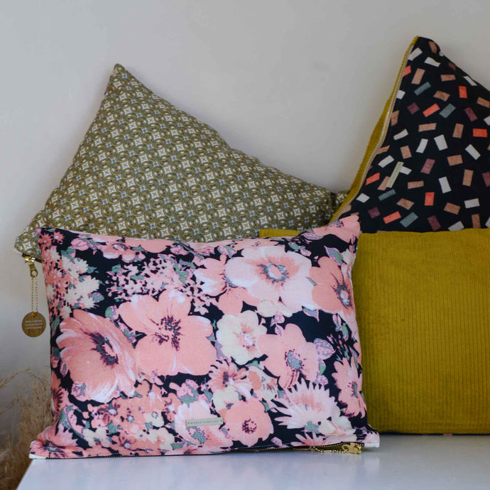 Doris for HK Living: Printed Cushion Floral