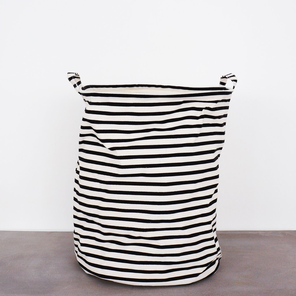 House Doctor Striped Laundry Bag