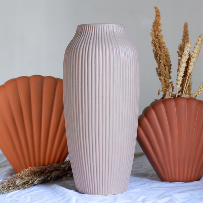 Hano Tall Vase in Rose