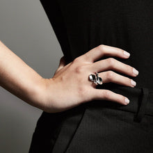 Load image into Gallery viewer, Hollis Silver Plated Statement Ring