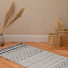 Load image into Gallery viewer, House Doctor Monochrome Woven Rug (Choice of three sizes)