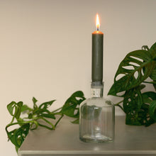 Load image into Gallery viewer, glass candle holder ib laursen