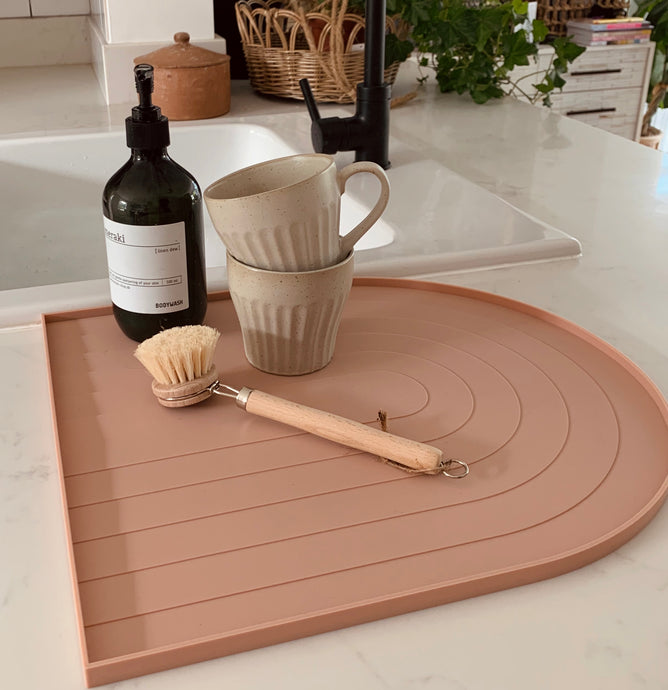 Dish Tray in Rose