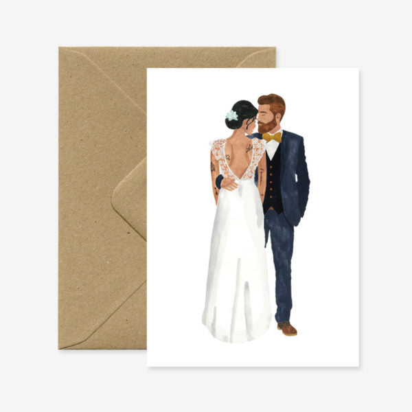 All The Ways To Say Wedding Couple Card