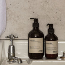 Load image into Gallery viewer, Meraki Northern Dawn Hand Lotion bathroom Sink Attractive Brown Pump Bottle Packaging
